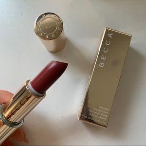 BNIB Becca Ultimate Lipstick Love in Mauve